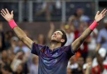ATP Stoccolma e Anversa: Del Potro vince al tiebreak del terzo set e sarà finale con Dimitrov. Tsonga e Schwartzman finalisti ad Anversa