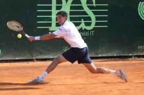 Federico Delbonis, argentino di Azul, nel 2013 ha sconfitto Federer in semifinale nel torneo Atp di Amburgo - (foto Makers).