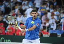 Davis Cup: Federico Delbonis assente nel match con l'Italia