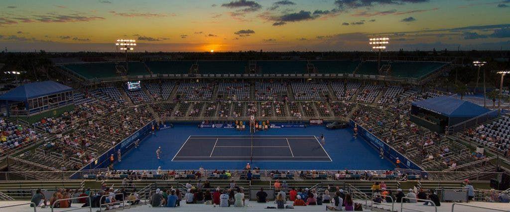 Ci saranno 2000 spettatori al giorno nel torneo ATP 250 di Delray Beach
