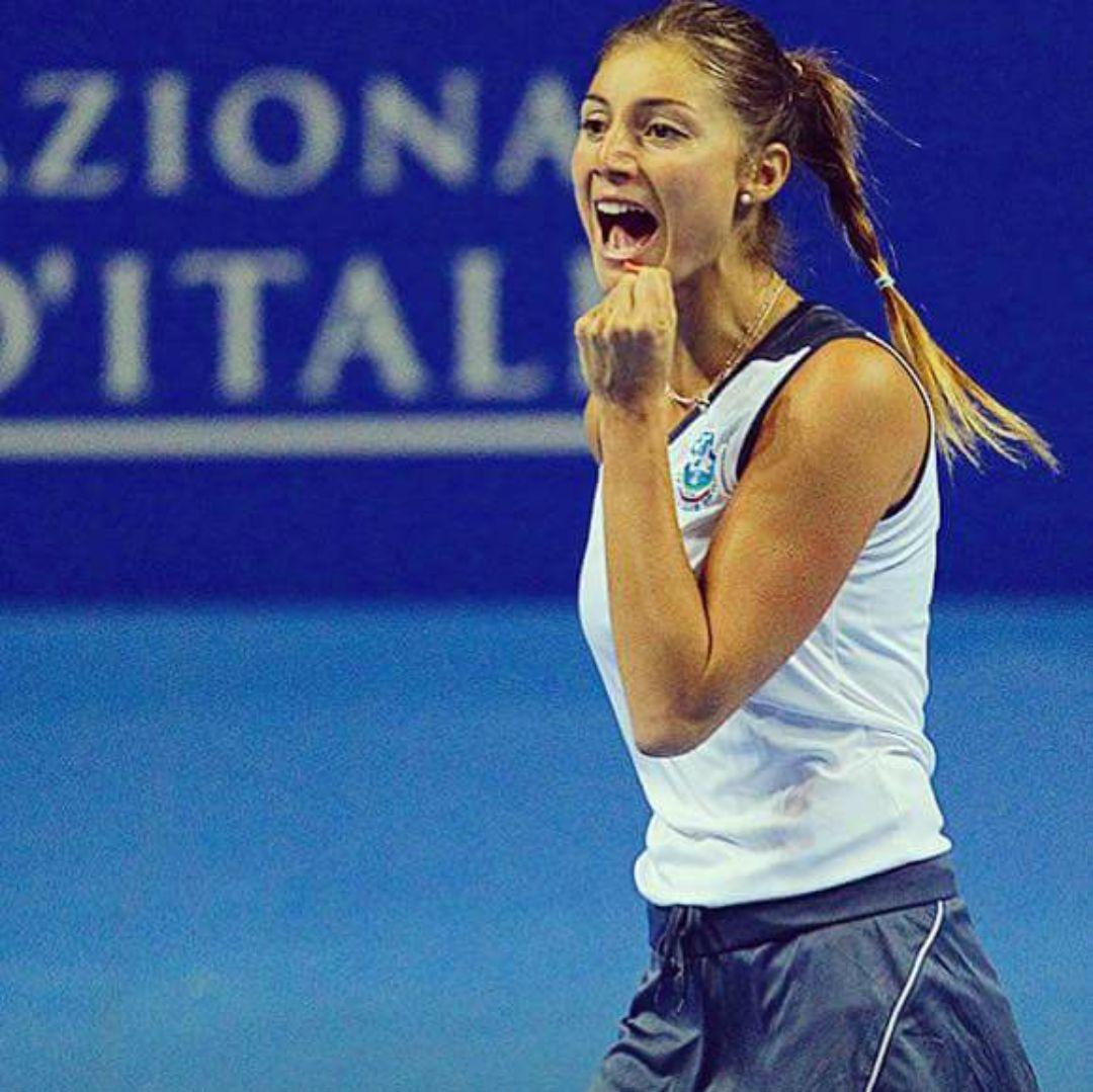 Corinna Dentoni classe 1989, best ranking n.132 WTA