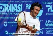 Challenger Monza: Tre ore di gioco fanno andare in semifinale Alessio Di Mauro. Sconfitto Fischer in tre set