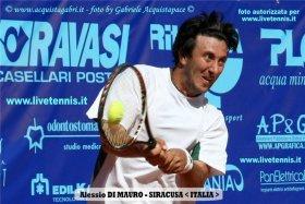 Alessio Di Mauro classe 1977, n.147 del mondo - Foto Gabriele Acquistapace
