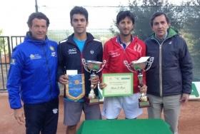 Alessio Di Mauro si aggiudica la seconda edizione dell'Open TC Caltanissetta
