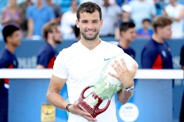 Grigor Dimitrov classe 1991, n.9 ATP
