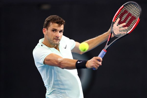 Grigor Dimitrov era l'unico top ten presente nell'edizione 2018 del torneo di Dubai