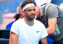 """Grigor Dimitrov e i problemi fisici oggi a Melbourne: """"oggi non riuscivo nemmeno a mettermi i calzini prima della partita"""""""