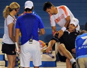 Andy Roddick e Novak Djokovic