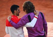 Dal Roland Garros: Parlano Novak Djokovic e Stefanos Tsitsipas (con il video della finale)