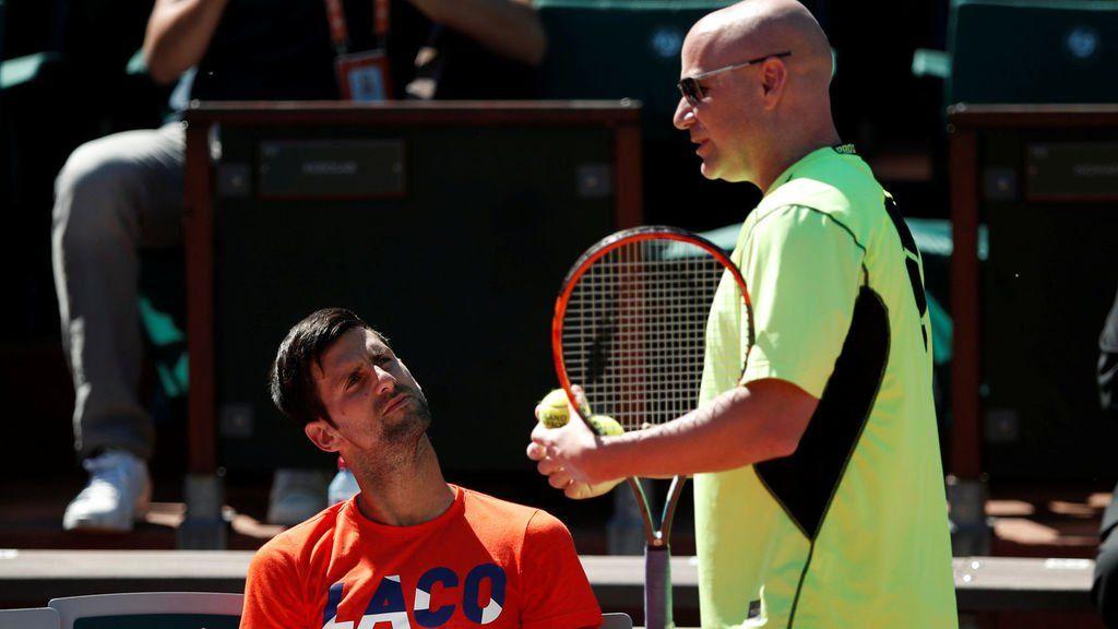 Andre Agassi parla del rapporto con Djokovic