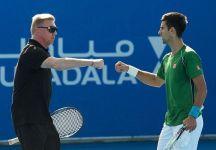 """Novak Djokovic ha chiesto a Becker di continuare anche nel 2017 ma Boris risponde in maniera secca: """"O scegli me o Pepe Imaz"""""""