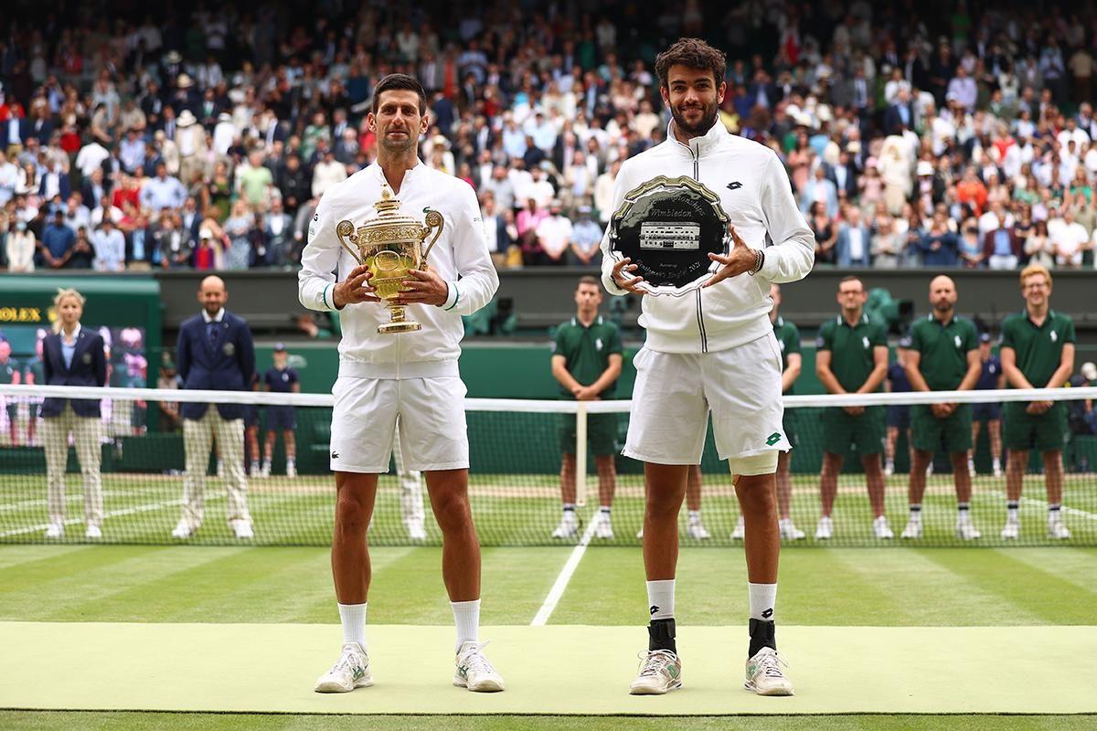 Djokovic vincitore a Wimbledon 2021