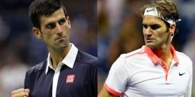 Domani la semifinale tra Djokovic e Federer