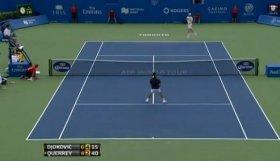 Novak Djokovic e Sam Querrey