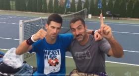 Novak Djokovic e Nenad Zimonjic a Rio