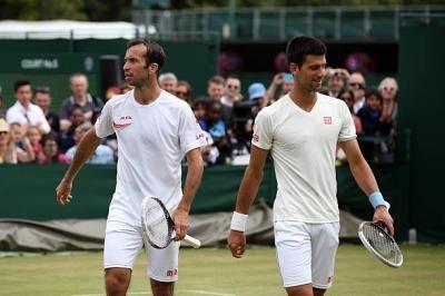 Novak Djokovic e Radek Stepanek