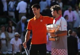 Novak Djokovic e Stan Wawrinka