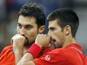 Nenad Zimonjic difende Novak Djokovic