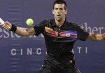 Masters 1000 e WTA Cincinnati: I risultati dei Quarti di Finale. Nell'incontro della sessione serale sofferto successo di Novak Djokovic