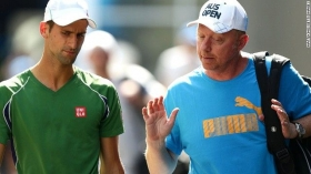 Boris Becker ex n.1 del mondo - Allena Novak Djokovic
