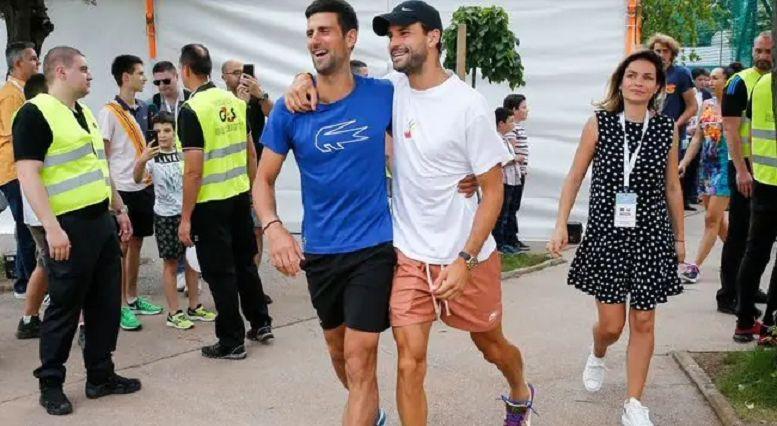 Djokovic e Dimitrov insieme all'Adria tour