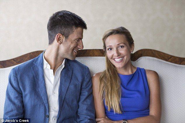 Novak Djokovic e Jelena aspettano un figlio