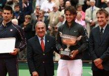 """Roland Garros: Rafael Nadal """"E 'un privilegio per me giocare qui contro il miglior giocatore del mondo"""". Novak Djokovic """"Rafa è stato semplicemente stupendo e fantastico in queste due settimane"""""""