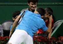 Il bel gesto di Novak Djokovic