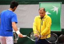Novak Djokovic lascia dopo 11 anni Marian Vajda
