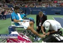 Marian Vajda parla del problema al piede destro di Novak Djokovic. Novak dovrà togliere alcune unghie