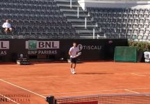 Dal Foro Italico: Novak Djokovic si allena con Jacopo Berrettini (Video)