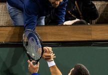Novak Djokovic batte facilmente Fratangelo e saluta il suo idolo Pete Sampras (VIDEO)