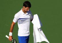 """Novak Djokovic dopo la sconfitta ad Indian Wells: """"Mentirei se dicessi che sono contento della sconfitta, ancora di più in un torneo importante come questo"""" (VIDEO)"""