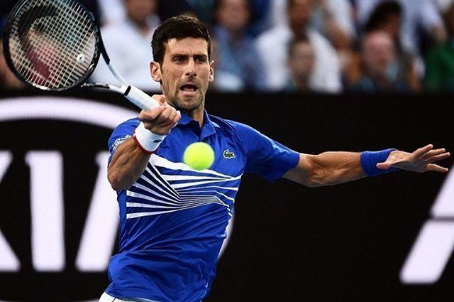 Novak Djokovic nella foto