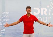 Coronavirus: Novak Djokovic e sua moglie Jelena sono senza sintomi. Nuovo test il prossimo 07 luglio