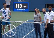 Us Open: Clamoroso!! Novak Djokovic è stato squalificato dopo aver colpito involontariamente un giudice di linea alla gola (con il Video)