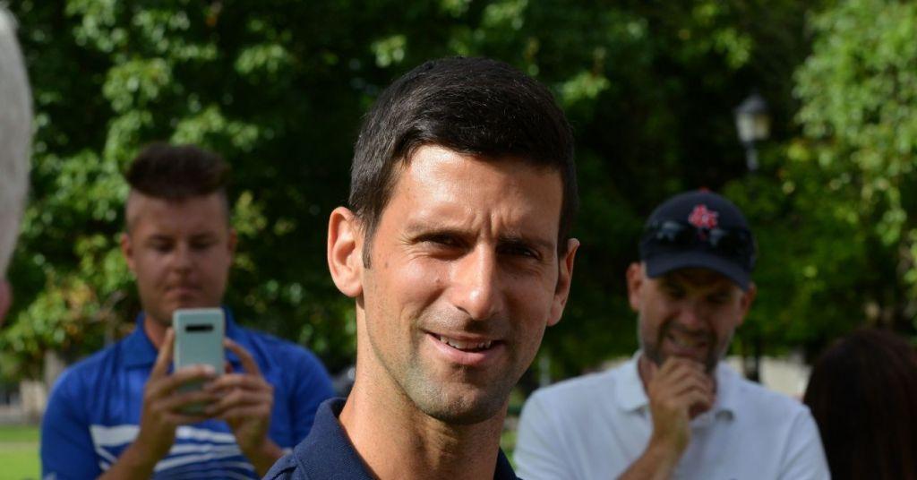 Novak Djokovic, fondatore della PTPA con Pospisil