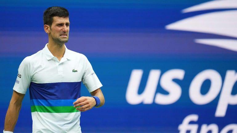 Djokovic in lacrime nell'ultimo game della finale