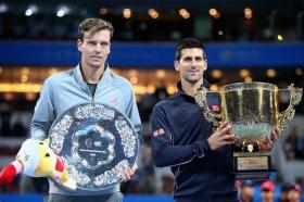 Novak Djokovic e Tomas Berdych