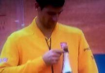 Novak Djokovic ed il pericolo scampato durante la premiazione a Roma