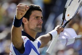 Novak Djokovic ha vinto due slam in carriera (Australian Open 2008, 2011).