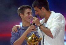 Novak Djokovic va in soccorso del fratello Djordje