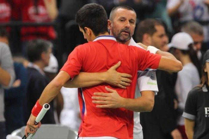 Bogdan Obradovic si propone di aiutare Novak Djokovic