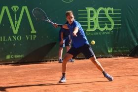 Matteo Donati ha superato Edoardo Eremin ed accede ai quarti di finale dell'Aspria Tennis Cup - Foto Francesco Peluso