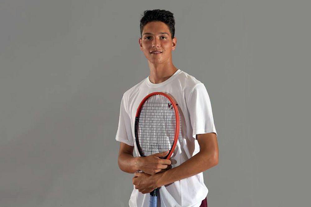 Carlo Donato, 18 anni da Pisa, è volato al college Virginia Tech di Blacksburg, per studiare Business Finance senza tralasciare il tennis