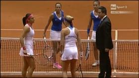 L'Italia fuori al primo turno di Fed Cup