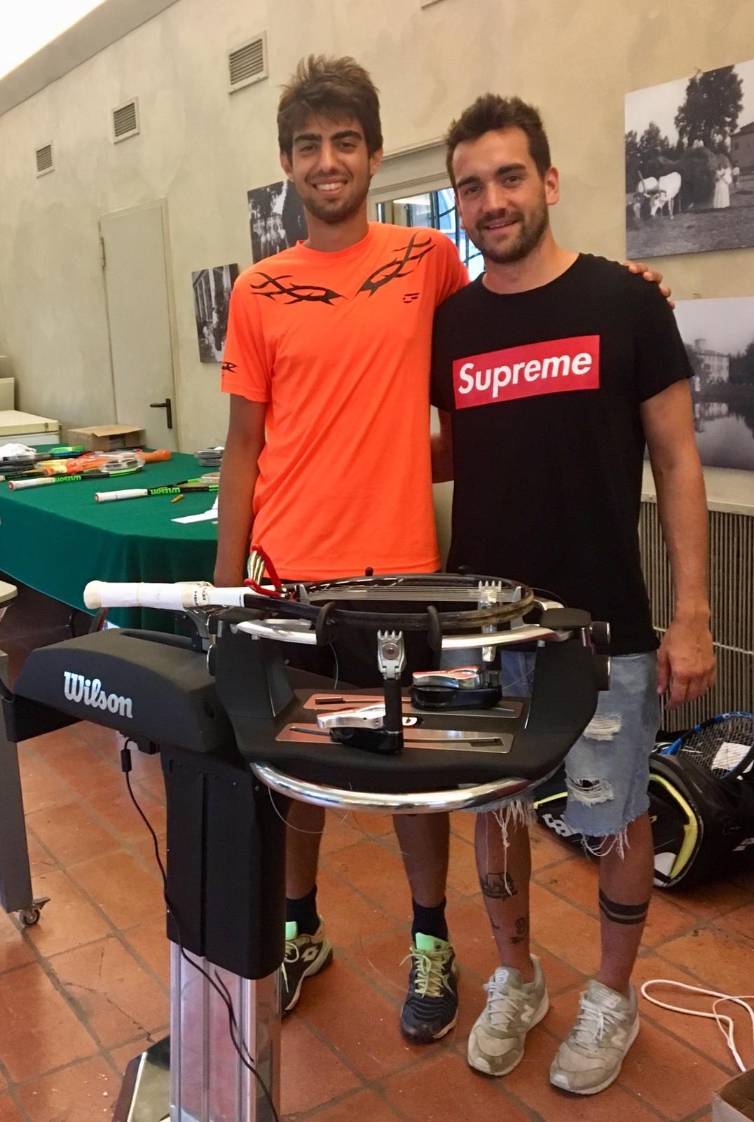 """Tennis Memorial Fontana: Dragoni avanza. Che spettacolo il """"Gioca con il Campione"""""""