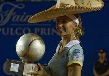 Dopo 3 anni ritorna al successo in singolare Gisela Dulko: Ad Acapulco vince l'argentina con la  Parra-Santonja che nel secondo set ha sprecato tre set point consecutivi