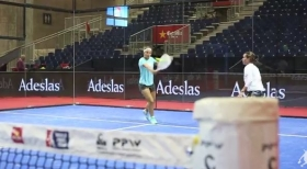 Sara Errani e la Medina Garrigues insieme in un torneo di Padel