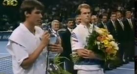 Roger Federer a 12 anni era presente come raccattapalle nella finale del torneo di Basilea tra Stich e Edberg